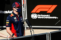 31st July 2020, Silverstone, Northampton, UK; Grand Prix of Great Britain, free practise;  33 Max Verstappen NLD, Aston Martin Red Bull Racing, Silverstone Great Britain