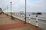 Pier and sea front, Penarth,  Wales