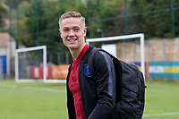 England goalkeeper, Nathan Bishop of Southend United, arrives at the ground all smiles, he obviously hasn't  seen the condition of the goalmouth yet during Guatemala Under-23 vs England Under-20, Tournoi Maurice Revello Football at Stade Marcel Cerdan on 11th June 2019