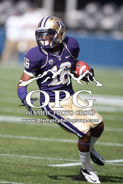 the latest 5325c a8b07 NCAA FOOTBALL: SEP 15 Portland State at Washington | Olympic ...