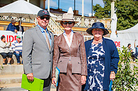 The Ground Jury (Robert Stevenson (USA); Susan Baxter (GBR); Helen Christie (NZL), during the First Horse Inspection for the CCI3*-L. 2019 AUS-Mitsubishi Motors Australian International 3 Day Event. Victoria Park. Adelaide. South Australia. Copyright Photo: Libby Law Photography