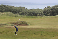 Linn Grant (SWE) on the 5th fairway during Matchplay Semi-Finals of the Women's Amateur Championship at Royal County Down Golf Club in Newcastle Co. Down on Saturday 15th June 2019.<br /> Picture:  Thos Caffrey / www.golffile.ie
