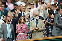 LONDON, ENGLAND - JULY 06: Prince Michael of Kent at  day five of the Wimbledon Tennis Championships at the The All England Lawn Tennis Club on July 6, 2018 in London, England<br /> CAP/MPI122<br /> &copy;MPI122/Capital Pictures