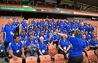 Volunteers. Day one of the 2018 HSBC World Sevens Series Hamilton at FMG Stadium in Hamilton, New Zealand on Saturday, 3 February 2018. Photo: Dave Lintott / lintottphoto.co.nz