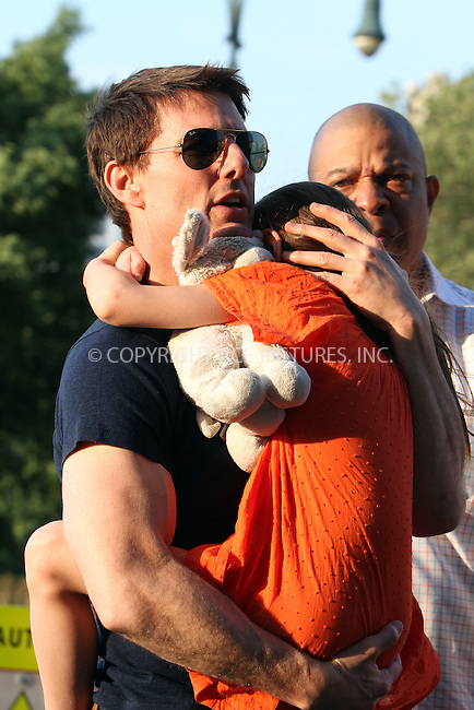 WWW.ACEPIXS.COM . . . . .  ....July 17 2012, New York City....Actor Tom Cruise takes his daughter Suri Cruise to Chelsea Piers on July 17 2012 in New York City....Please byline: Zelig Shaul - ACE PICTURES.... *** ***..Ace Pictures, Inc:  ..Philip Vaughan (212) 243-8787 or (646) 769 0430..e-mail: info@acepixs.com..web: http://www.acepixs.com