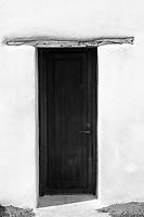 Mission San Juan doorway abstract
