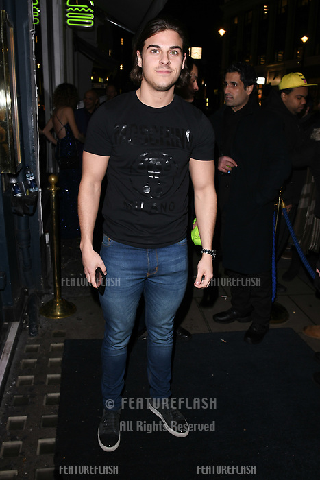 Chris Clark arriving for James Ingham's Jog on to Cancer 2018 at Cafe de Paris, London, UK. <br /> 04 April  2018<br /> Picture: Steve Vas/Featureflash/SilverHub 0208 004 5359 sales@silverhubmedia.com