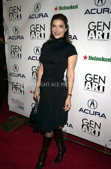 "*WORLD RIGHTS*.Laura Elena Herring arriving at the Loews Astor Plaza for the.premiere of ""XX/XY"" at the 8th annual GEn ARt Film Festival..New York.   8 April, 2003   Ref: SA0005.Please Byline AJ Sokalner/Big Pictures USA"