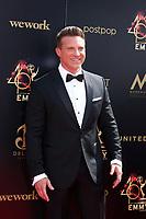 LOS ANGELES - MAY 5:  Steve Burton at the 2019  Daytime Emmy Awards at Pasadena Convention Center on May 5, 2019 in Pasadena, CA