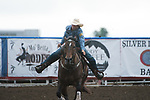 Cheyenne Wimberley during the Cody Stampede event in Cody, WY - 7.3.2019 Photo by Christopher Thompson