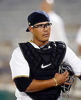 Tony Sanchez - Mesa Solar Sox - 2010 Arizona Fall League.Photo by:  Bill Mitchell/Four Seam Images..