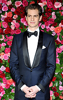 NEW YORK, NY - JUNE 10:  Andrew Garfield attends the 72nd Annual Tony Awards at Radio City Music Hall on June 10, 2018 in New York City.  <br /> CAP/MPI/JP<br /> &copy;JP/MPI/Capital Pictures