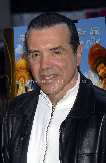 WWW.ACEPIXS.COM . . . . . ....January 7, 2007, New York City. ....Chazz Palminteri attends the Premiere of the movie 'Arthur and the Invisibles' at the Directors Guild of America. ....Please byline: KRISTIN CALLAHAN - ACEPIXS.COM.. . . . . . ..Ace Pictures, Inc:  ..(212) 243-8787 or (646) 769 0430..e-mail: info@acepixs.com..web: http://www.acepixs.com