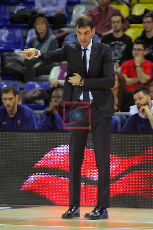 League ACB-ENDESA 2016/2017 - Game: 21.<br /> FC Barcelona Lassa vs ICL Manresa: 92-72.<br /> Georgios Bartzokas.