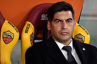 Paulo Fonseca coach of AS Roma <br /> Roma 23/02/2020 Stadio Olimpico <br /> Football Serie A 2019/2020 <br /> AS Roma - Lecce<br /> Photo Andrea Staccioli / Insidefoto