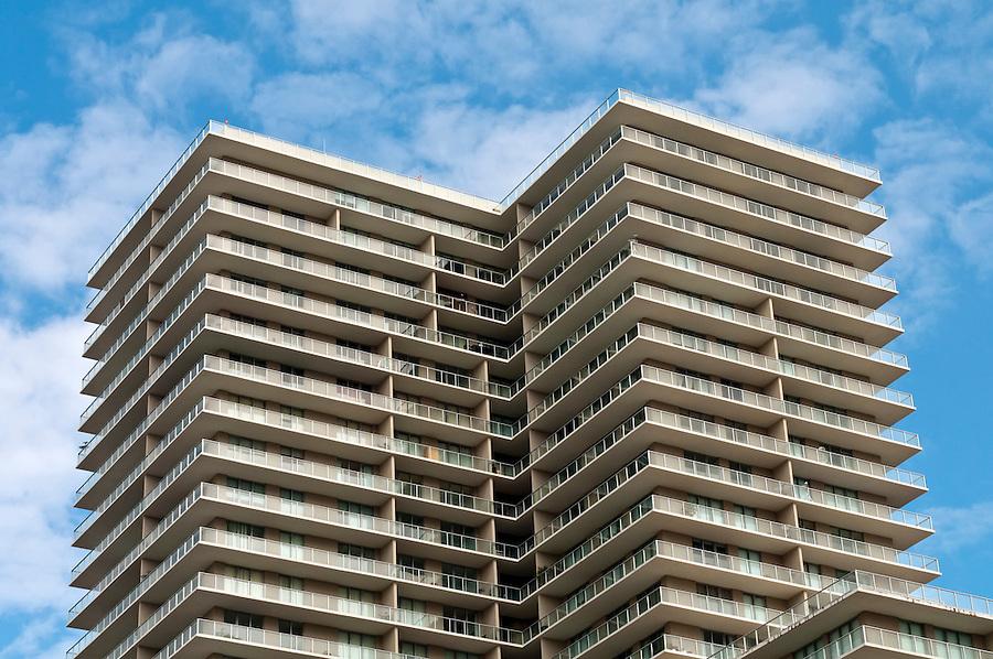 Apartment building units in Miami. Real Estate picture.