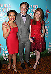 Shalita Grant, Billy Magnussen & Genevieve Angelson attending the Broadway Opening Night Performance after party for  'Vanya and Sonia and Masha and Spike' at the Gotham Hall in New York City on 3/14/2013.