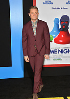 Billy Magnussen at the premiere for &quot;Game Night&quot; at the TCL Chinese Theatre, Los Angeles, USA 21 Feb. 2018<br /> Picture: Paul Smith/Featureflash/SilverHub 0208 004 5359 sales@silverhubmedia.com