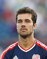 New England Revolution forward Benny Feilhaber (22). In a Major League Soccer (MLS) match, Toronto FC defeated New England Revolution, 1-0, at Gillette Stadium on July 14, 2012.