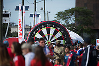 Harrison, NJ - Friday Sept. 01, 2017: Fan fest prior to a 2017 FIFA World Cup Qualifier between the United States (USA) and Costa Rica (CRC) at Red Bull Arena.