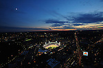 -Boston, MA, August 27, 2009 -<br /> <br /> Fenway Park and surrounding Boston. <br /> <br /> (Photograph by Michael Ivins/Boston Red Sox)