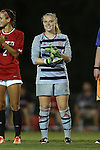 04 September 2015: NC State's Sydney Wootten. The North Carolina State University Wolfpack hosted the Oregon University Ducks at Dail Soccer Field in Raleigh, NC in a 2015 NCAA Division I Women's Soccer game. NC State won the game 2-0.