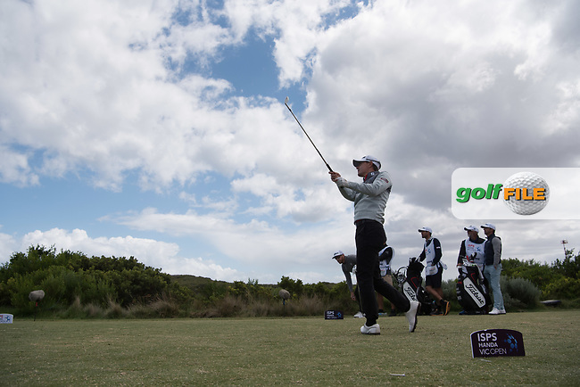 Jason Scrivener (NZL) during the 3rd round of the VIC Open, 13th Beech, Barwon Heads, Victoria, Australia. 09/02/2019.<br /> Picture Anthony Powter / Golffile.ie<br /> <br /> All photo usage must carry mandatory copyright credit (&copy; Golffile | Anthony Powter)