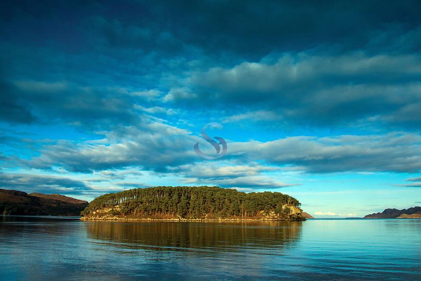 Loch Shieldaig and Shieldaig Island, Shieldaig, Ross & Cromarty, Northwest Highlands