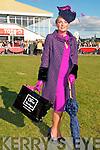Ladies Day Listowel Races : Best Dressed Lady Winner Sharon Hefernan.