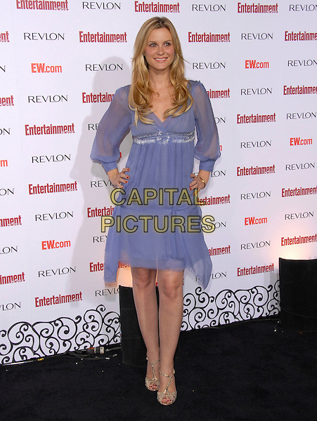 BONNIE SOMMERVILLE.attends The Entertainment Weekly 5th Annual Pre-Emmy Party held at Opera & Crimson in Hollywood, California, USA, September 15 2007..full length blue lilac purple dress.CAP/DVS.©Debbie VanStory/Capital Pictures
