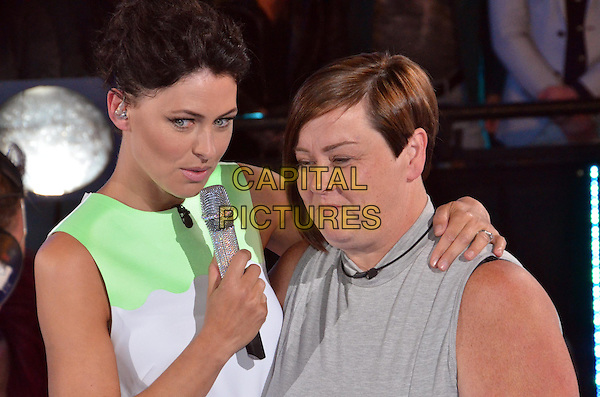 Emma Willis (nee Griffiths), Deirdre Kelly 	<br /> in Celebrity Big Brother - Summer 2014 <br /> *Editorial Use Only*<br /> CAP/NFS<br /> Image supplied by Capital Pictures