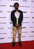 """WEST HOLLYWOOD - FEBRUARY 15: Tyquone Greer arrives for the LA screening of Fox Sports """"Shot in the Dark"""" at the Pacific Design Center on February 15, 2018 in West Hollywood, California.(Photo by Frank Micelotta/Fox/PictureGroup)"""