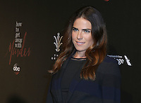 """20 September 2016 - Los Angeles, California - Karla Souza. ABC """"How To Get Away With Murder"""" Season 3 Premiere held at  Pacific Theater at the Grove. Photo Credit: PMA/AdMedia"""