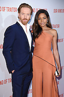 "Damian Lewis and Naomie Harris<br /> poses at the Washington Hotel before the premiere of ""Our Kind of Traitor"" held at the Curzon Mayfair, London<br /> <br /> <br /> ©Ash Knotek  D3113 05/05/2016"