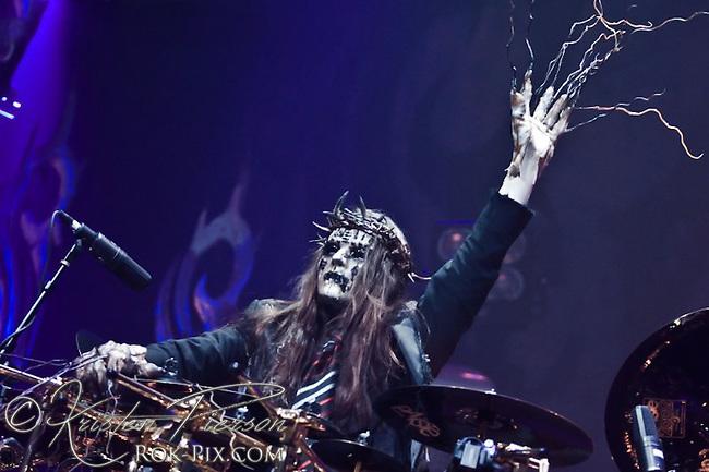 Slipknot, Tsongas Arena in Lowell, Massachusetts, February 6, 2009