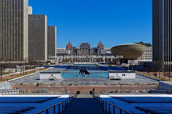 Empire State Plaza, Albany, New York, USA
