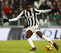 Calcio, Serie A: Juventus - Genoa, Torino, Allianz Stadium, 22 gennaio 2018. <br /> Juventus' Blaise Matuidi in action during the Italian Serie A football match between Juventus and Genoa at Torino's Allianz stadium, January 22, 2018.<br /> UPDATE IMAGES PRESS/Isabella Bonotto