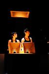 OH....Chorégraphie  Jean-Christophe Bleton (Les Orpailleurs)..Interprète - cor  Serge Desautels (Odyssée Ensemble & cie)..Musiques   Stéphane Magnin , Kurt Schwitters, Mickaël Lévinas, Vincent Carinola..Danse  Marina Ligeron, Jean-Philippe Costes-Muscat..Percussions  Claudio Bettinelli..Création lumières  Frédéric Dugied..Scénographie  Olivier Defrocourt..Théâtre Dunois..Paris..le 15/11/2010..© L Paillier / photosdedanse.com..All right reserved
