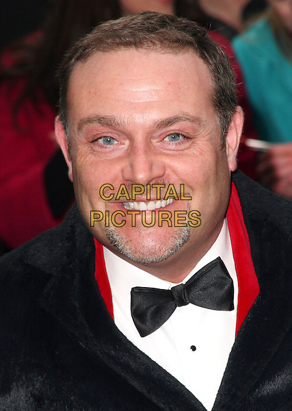 JOHN THOMSON .British Comedy Awards 2009 held at the ITV Studios, South Bank, London,.December 12th 2009..portrait headshot black bow tie goatee facial hair smiling .CAP/JIL.©Jill Mayhew/Capital Pictures