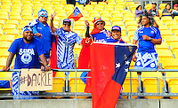 Fans during the 2016 HSBC Wellington Sevens at Westpac Stadium, Wellington, New Zealand on Saturday, 30 January 2016. Photo: Nizaam Jones / lintottphoto.co.nz