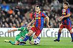 Barcelona  le gano 2x0 a Rubín por la liga de campeones...