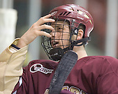Mike Brennan - The Boston College Eagles defeated the Providence College Friars 4-1 on Saturday, January 7, 2006, at Schneider Arena in Providence, Rhode Island.