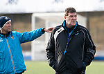 St Johnstone Training&hellip;05.02.19<br />Manager Tommy Wright and assitant Alec Cleland pictured during training this morning at McDiarmid Park ahead of tomorrow&rsquo;s game at Hamilton<br />Picture by Graeme Hart.<br />Copyright Perthshire Picture Agency<br />Tel: 01738 623350  Mobile: 07990 594431