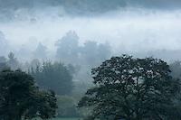 A misty early morning at Acul, near Nebaj.