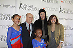 All My Children's Rebecca Budig poses with Scott Hamilton and designer Vera Wang and young skaters at the 2012 Skating with the Stars  - a benefit gala for Figure Skating in Harlem celebrating 15 years on April 2, 2012 at Central Park's Wollman Rink, New York City, New York.  (Photo by Sue Coflin/Max Photos)