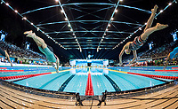 400 m Medley Women<br /> Start<br /> day 02  09-08-2017<br /> Energy For Swim<br /> Rome  08 -09  August 2017<br /> Stadio del Nuoto - Foro Italico<br /> Photo
