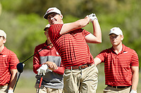 SAN ANTONIO, TX - MARCH 20, 2018: The University of Texas at San Antonio Roadrunners compete in the 2018 UTSA Lone Star Invitational Golf Tournament at the Briggs Ranch Golf Club. (Photo by Jeff Huehn)
