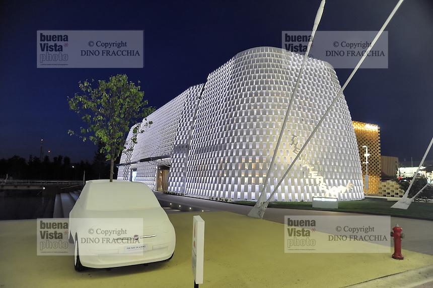 - Milano, Esposizione Mondiale Expo 2015, padiglione banca Intesa SanPaolo<br /> <br /> - Milan, the World Exhibition Expo 2015, pavillion of Intesa SanPaolo bank