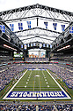 LUCAS OIL STADIUM,  during the Rams preseason game against the Indianapolis Colts on August 12, 2012 at Lucas Oil Stadium in Indianapolis, IN. The Colts beat the Rams 38-3.