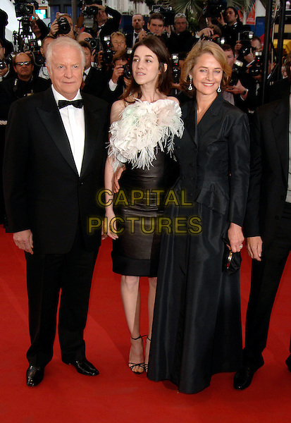 "CHARLOTTE GAINSBOURG & CHARLOTTE RAMPLING..arrivals at opening film ""Lemming""..Cannes Film Festival, France..Ref: PL..mother daughter..www.capitalpictures.com..sales@capitalpictures.com..©Capital Pictures.."